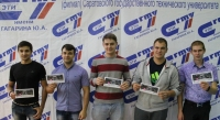 ETU SSTU best sportsmen were presented with the tickets to the World Boxing Championship