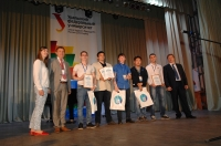 SSTU students were awarded at IT-Planet 2015/16 competition