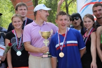 SSTU team came third on the Spartakiad between summer universities' camps