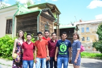 SSTU foreign students took part in celebration of the Russian Language Day